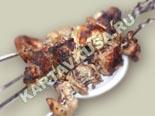 вторые блюда из курицы | шашлык из курицы в уксусе - рецепт с фото