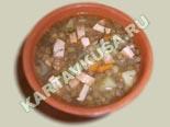 первые блюда - рецепты с фото | суп из чечевицы с сосисками