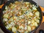блюда из грибов | свинина с картошкой и грибами - рецепт с фото