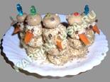 холодные закуски | сырные шарики с орехами - рецепт с фото