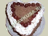 десерты и выпечка - рецепты с фото | торт черный лес