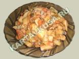 блюда из кабачков | тушеные овощи с фасолью - рецепт с фото