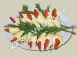 холодные закуски | закуска из плавленого сыра с помидорами - рецепт с фото