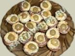 блюда из грибов | запеченные шампиньоны с сыром - рецепт с фото