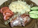 блюда из фарша | зразы мясные с яйцом и луком - рецепт и фото