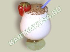 Трехцветный молочный коктейль, пошаговый рецепт с фото