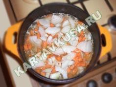 овощное рагу с мясом и картошкой | приготовление - 5 шаг