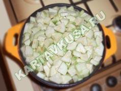 овощное рагу с мясом и картошкой | приготовление - 7 шаг