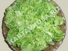 салат цезарь с курицей   приготовление - 11 шаг
