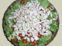 салат цезарь с курицей   приготовление - 13 шаг