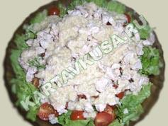 салат цезарь с курицей   приготовление - 14 шаг