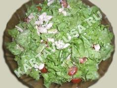 салат цезарь с курицей   приготовление - 15 шаг