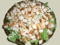 салат цезарь с курицей   приготовление - 16 шаг