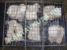 шашлык из свинины в лимоне | приготовление - 8 шаг