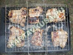 шашлык из свинины в лимоне | приготовление - 10 шаг