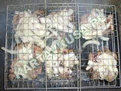 шашлык из свинины в лимоне | приготовление - 11 шаг