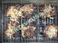 шашлык из свинины в лимоне | приготовление - 12 шаг