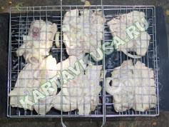 шашлык из свиных ребрышек на решетке | приготовление - 6 шаг