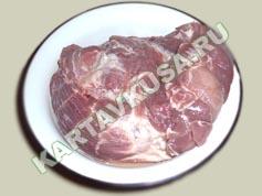 шашлык из свинины в пиве | приготовление - 1 шаг