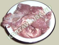 шашлык из свинины в пиве   приготовление - 2 шаг