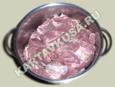 шашлык из свинины в пиве | приготовление - 3 шаг