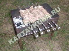 шашлык из свинины в пиве   приготовление - 8 шаг