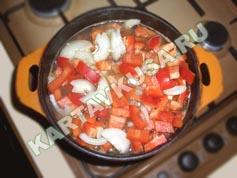 шурпа из говядины | приготовление - 3 шаг