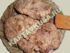 Стейки из капусты, пошаговый рецепт с фото