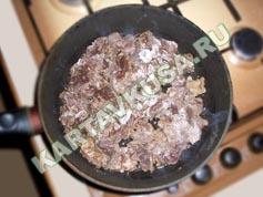 тушеная печень в сметане | приготовление - 3 шаг