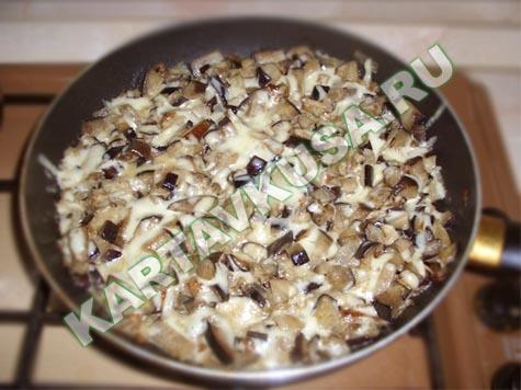 жюльен из баклажанов | рецепт с фото