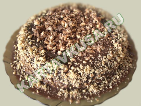 Шоколадный торт прага рецепт с фото