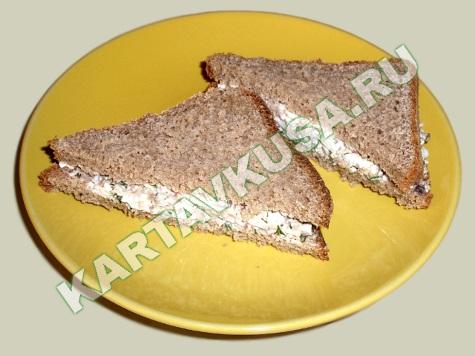 Бутерброды с сайрой рецепт