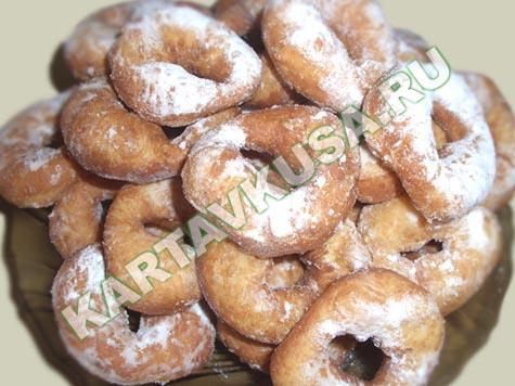 дрожжевые пончики | пошаговый фото-рецепт