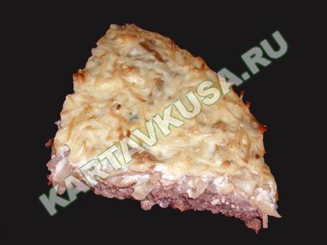 фарш с грибами в духовке | пошаговый фото-рецепт