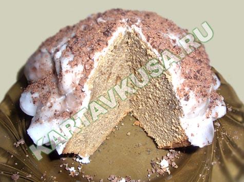 кофейно-лимонный пирог | пошаговый фото-рецепт