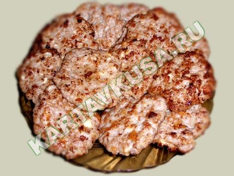 рецепт из свиного фарша рецепт с фото пошаговый