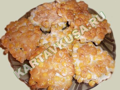 Такие оладьи можно приготовить как горячую закуску или как гарнир.