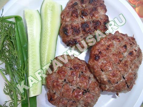 рецепт люля кебаб из говядины на мангале