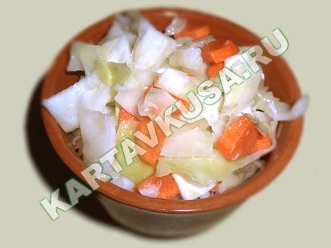 маринованная капуста | пошаговый фото-рецепт