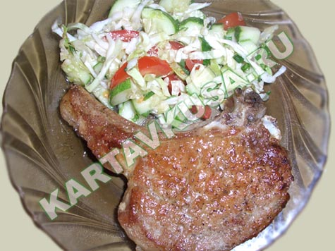 Отбивные из свинины Пошаговый фото-рецепт | Наш