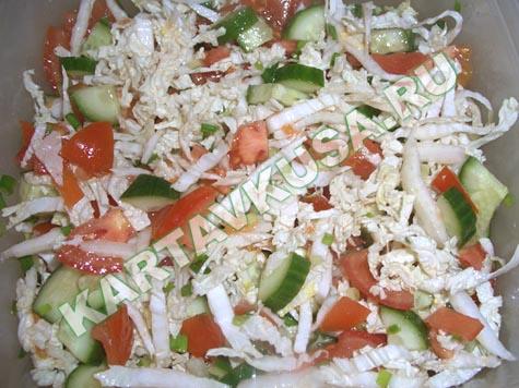 Салаты (более 1 рецептов с фото) - рецепты с