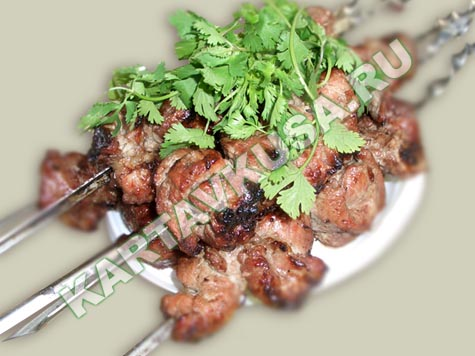 шашлык из свинины в пиве | пошаговый фото-рецепт