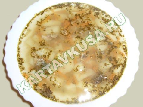 Суп из рыбных консервов - Все рецепты России Мой вариант рыбного супа
