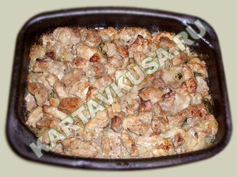Рецепты блюд из кусочков свинины с фото