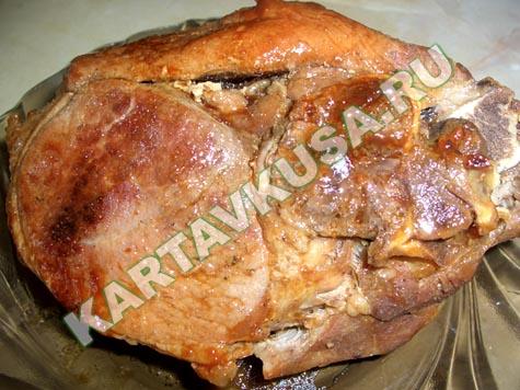 Свинина в рукаве рецепт
