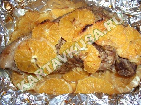 Блюдо из свинины в духовке