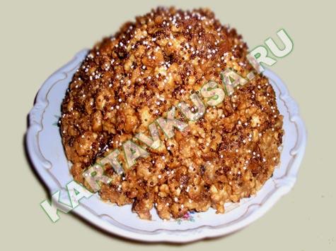 Торт муравейник пошаговый фото