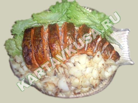 Треска с картофелем в духовке рецепты с фото